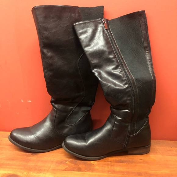 Tall Wide Calf Boots
